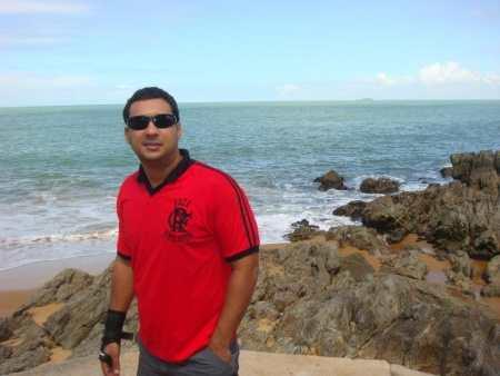 Modesto era Agente PenitenciÃÂÂÂ¡rio (Foto: ARQUIVO PESSOAL MODESTO)