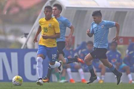 Luan Martins de RondÃ&cute;nia para o Mundo coma Seleção do Brasil  (Foto: ARQUIVO PESSOAL LUAN MARTINS)