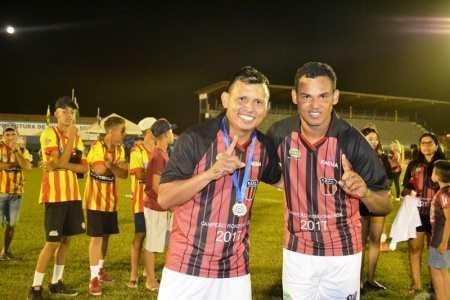 Campeão Rondoniense pela Real Ariquemes (Foto: ALEXANDRE JABÁ)