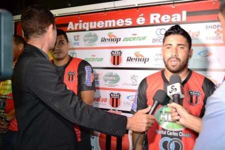 Buchecha é do Furacão Artilheiro  do Campeonato Rondoniense 2016 e 2017 (Foto: Alexandre JabÃÂÂÂÂ¡)