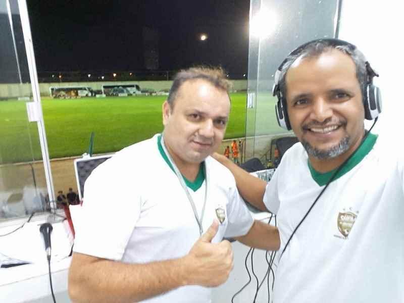 Alexandre Jabá e Amauri de Souza  (Foto: Equipe Show de Bola)