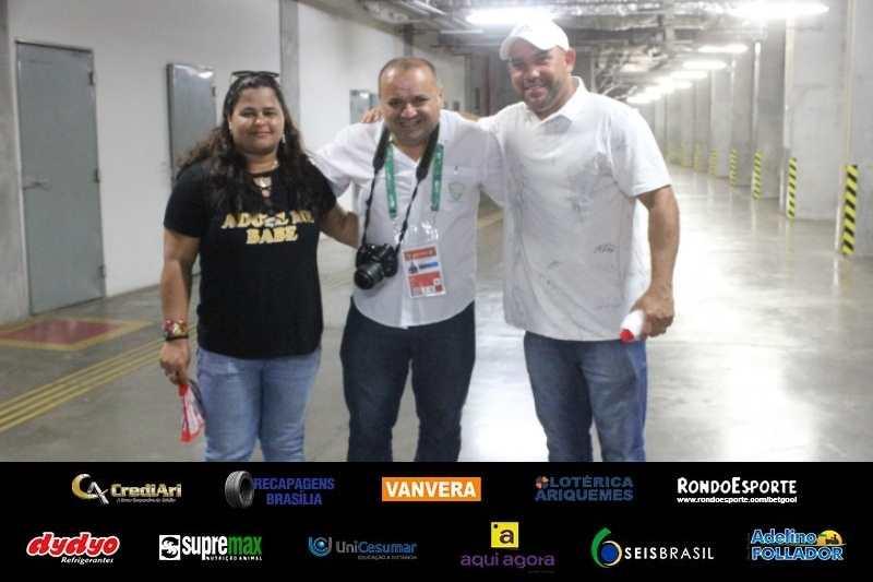 Os pais de Luanzinho, Lica e Quinzena se deslocaram de SC para AmazÃ&cute;nia (Foto: Josemar Antunes)
